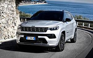 Fotos Jeep Wege Silber Farbe Metallisch Compass S 4xe, EU-spec (MP), 2021 automobil