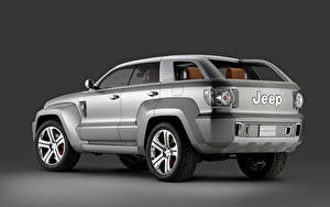 Hintergrundbilder Jeep Graue Metallisch Sport Utility Vehicle Trailhawk Concept, 2007 Autos