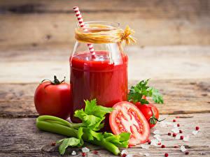 Hintergrundbilder Saft Gemüse Tomate Bretter Einweckglas Lebensmittel