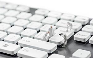Image Keyboard Toys Closeup criminology, crime scene photographers