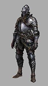 Hintergrundbilder Ritter Dark Souls 3 Rüstung Grauer Hintergrund Fantasy
