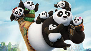 Hintergrundbilder Kung Fu Panda Pandas Bären