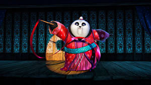 Hintergrundbilder Kung Fu Panda Großer Panda Bären Kimono 4 Animationsfilm