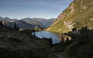 Bilder See Berg Deutschland Alpen Bergsee, Mecklenburg-Vorpommern