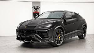 Fotos Lamborghini Schwarz 2018 TopCar Urus Autos
