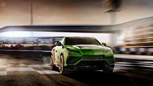 Bilder Lamborghini Grün Urus 2019 ST-X