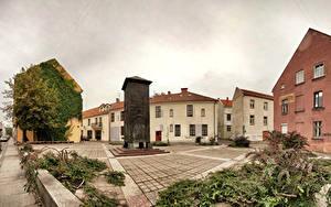 Bilder Litauen Gebäude Denkmal Straße Old Klaipeda