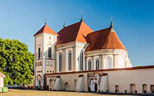 Fotos Litauen Tempel Kirchengebäude Kaunas Trinity Seminary Church