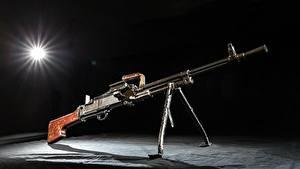 Fotos Maschinengewehr Russischer TKB-464 Militär
