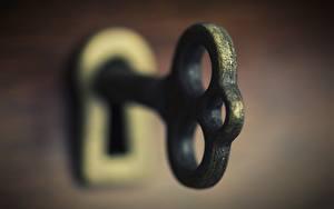 Fotos Makrofotografie Großansicht Schlüssel