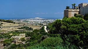 Fotos Malta Himmel Mdina Städte