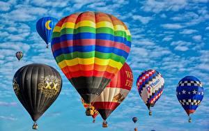 Fotos Viel Heißluftballon Flug