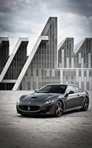 Fotos Maserati Grau Metallisch 2013-17 GranTurismo MC Stradale Worldwide Pininfarina Autos