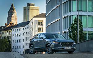 Bilder Mazda Graue Metallisch 2019 CX-30 Worldwide automobil