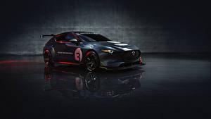 Hintergrundbilder Mazda Fahrzeugtuning Graue Metallisch 2020 Mazda3 TCR auto
