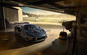 Hintergrundbilder McLaren Grau 2020 Novitec Senna Autos