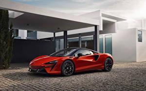 Bilder McLaren Rot Metallisch 2021 Artura Autos