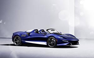 Bilder McLaren Blau Metallisch Roadster Elva Windscreen Version, (North America), 2021 auto