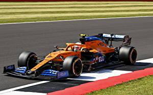 Bakgrundsbilder på skrivbordet McLaren Formel 1 Tuning 2020 MCL35 automobil