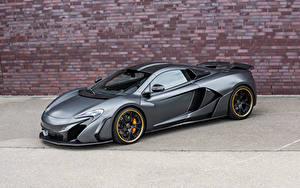 Bakgrundsbilder på skrivbordet McLaren Tuning Grå Lyx 2015 FAB Design McLaren 650S Bilar