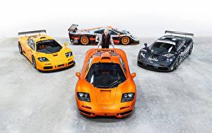 Bakgrundsbilder på skrivbordet McLaren Tuning Män Orange F1, Gordon Murray Bilar