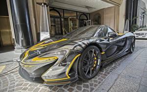 Bakgrundsbilder på skrivbordet McLaren Tuning Dyra P1 bil