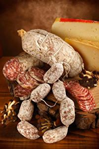 Fotos Fleischwaren Wurst Käse Lebensmittel