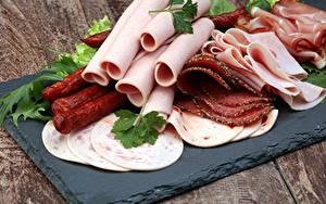 Fotos Fleischwaren Wurst Schinken Geschnitten