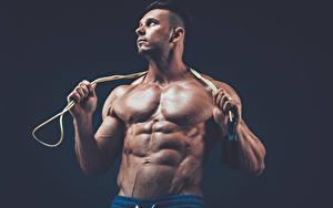 Fotos Mann Bodybuilding Muskeln Hand Sport