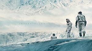 Image Men Cosmonauts Interstellar (film) 2014 Movies