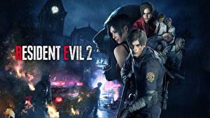 Hintergrundbilder Mann Resident Evil 2 2019 Leon S. Kennedy