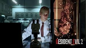 Bilder Mann Resident Evil 2 2019 William Birkin Spiele