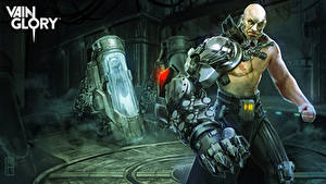 Hintergrundbilder Mann Hand Cyborg vain glory Stormlord Ardan Spiele Fantasy