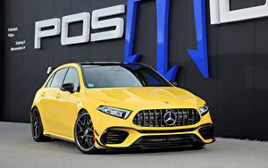 Bilder Mercedes-Benz Gelb Metallisch 2020 Posaidon A 45 RS 525