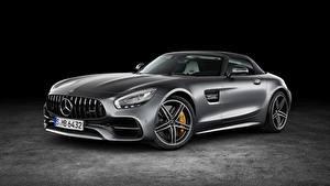 Fondos de escritorio Mercedes-Benz Metálico Gris AMG GT automóvil