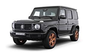 Fondos de escritorio Mercedes-Benz Clase G El fondo blanco SUV Gris 2020 Brabus Invicto VR6 Plus ERV Pure autos