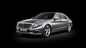 Tapety na pulpit Mercedes-Benz Szary Metaliczna W222, s-class samochód