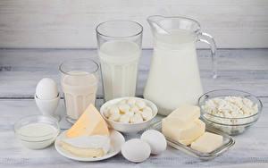 Fotos Milch Käse Topfen Weißkäse Quark Hüttenkäse Kanne Trinkglas Ei Öle Die Sahne Lebensmittel