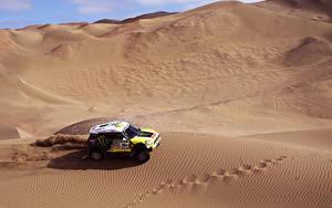 Fotos Mini Wüste Mini Cooper Dakar X-raid auto Sport