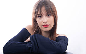Fotos Model Gesicht Blick Mireya C. Balderas Mädchens