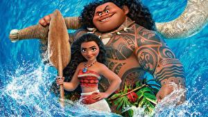 Fotos Vaiana – Das Paradies hat einen Hak Tätowierung Maui Animationsfilm Mädchens