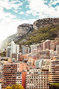Bilder Monaco Monte-Carlo Gebäude Gebirge Städte