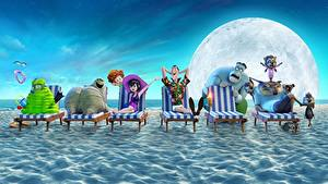 Image Monsters Beach Sunlounger Hotel Transylvania 3 Summer Vacation