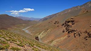Fotos Marokko Gebirge Felsen Atlas Mountains