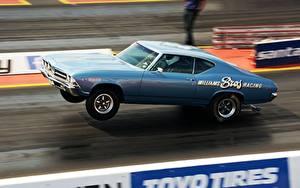 Hintergrundbilder Hellblau Muscle car Autos
