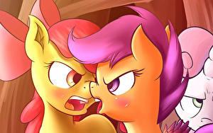 Bilder My Little Pony Zwei Grinsen
