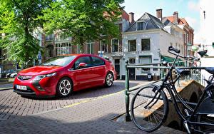 Fotos Opel Rot Metallisch 2011-15 Ampera