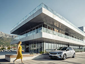 Hintergrundbilder Opel Silber Farbe 2019-20 Corsa Autos
