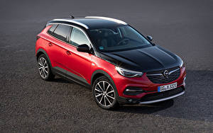 Bilder Opel Rot Metallisch 2019-20 Grandland X Hybrid4