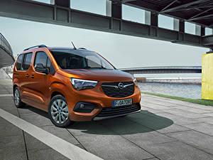 Fotos Opel Kleintransporter Braun Metallisch Combo-e Life, 2021 Autos